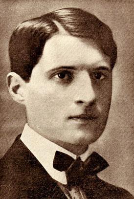 Julian Tuwim, ok. 1913 roku.