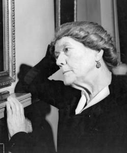 Ivy Compton-Burnett, około 1955 roku.