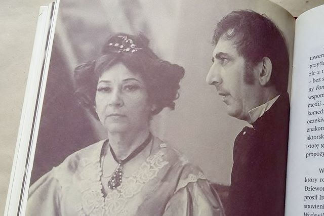 Irena Kwiatkowska i Gustaw Holoubek